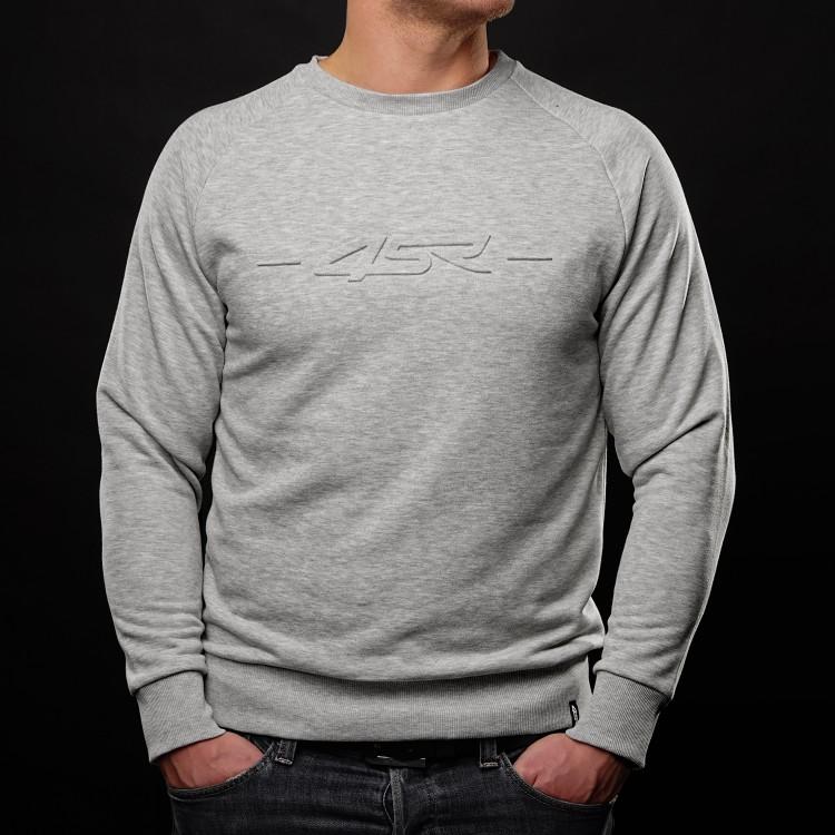 Bluzka Logo EMB Grey