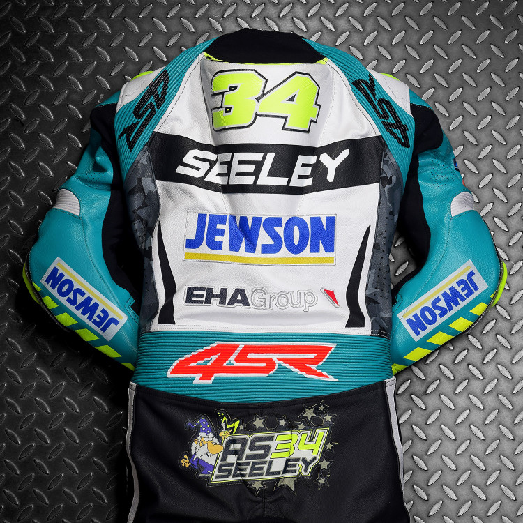 4SR leathers EHA Racing Alastair Seeley 2