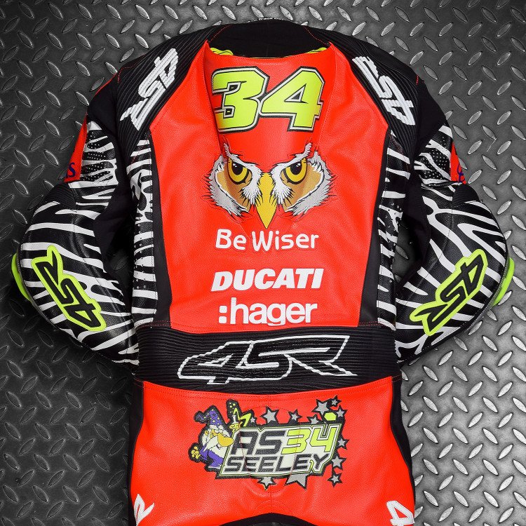 4SR racing leathers NW200 Alastair Seeley PBM BeWiser Ducati 1