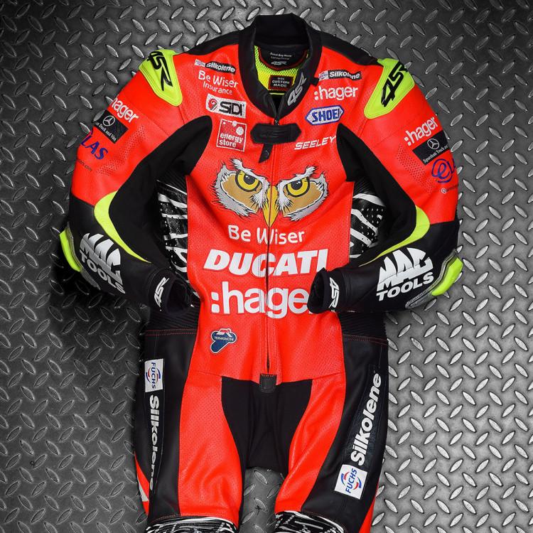 4SR kombinéza na zakázku Ducati