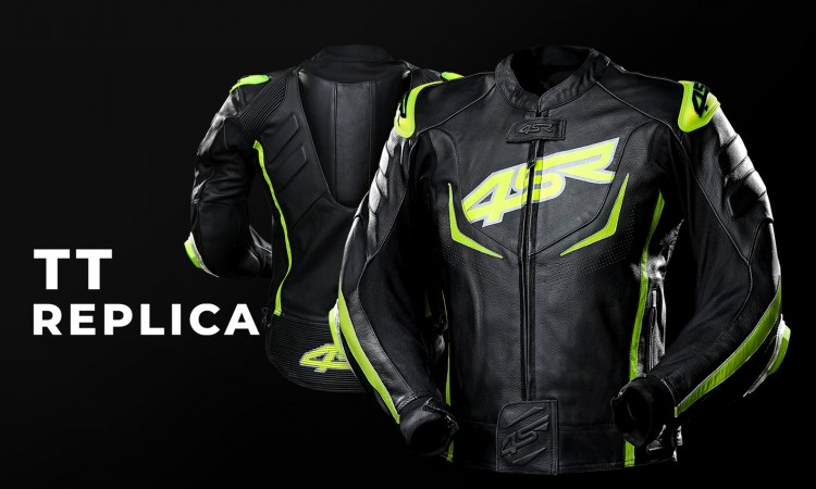 TT Replica: sportowa kurtka z garbem