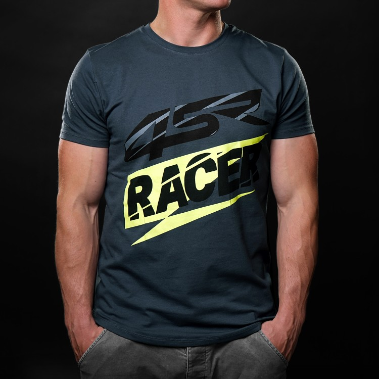 4SR tričko Racer Grey