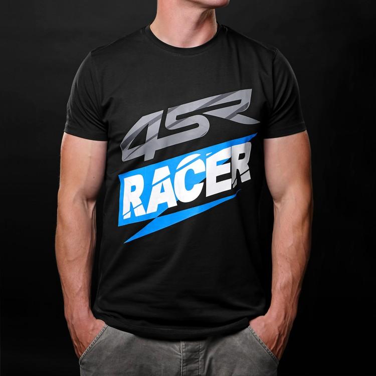 4SR tričko Racer Black 1