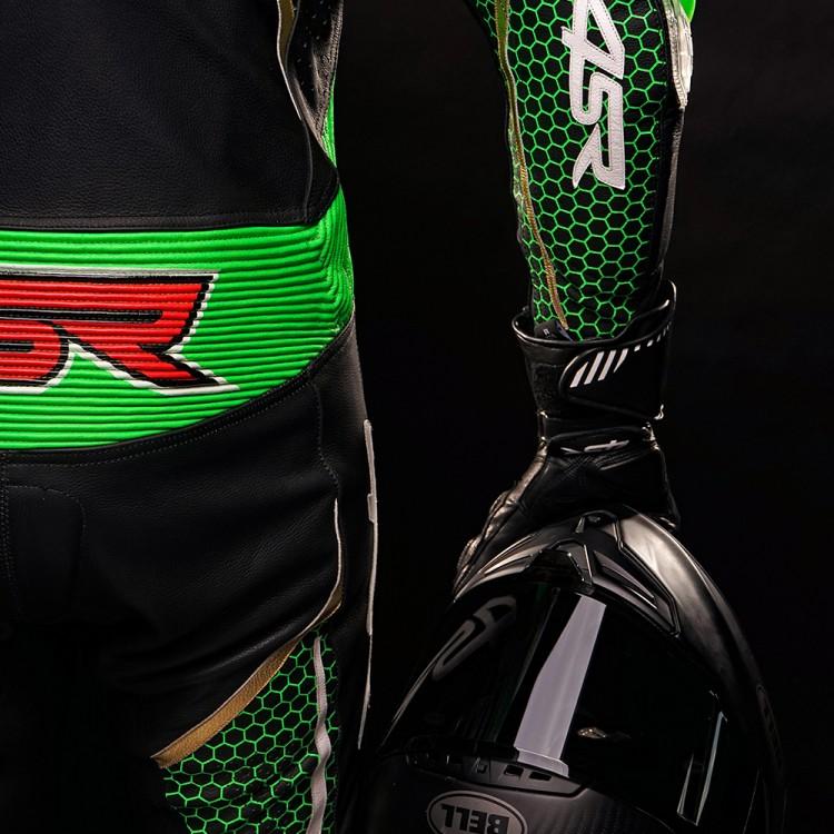 Kombinezon Racing Monster Green AR