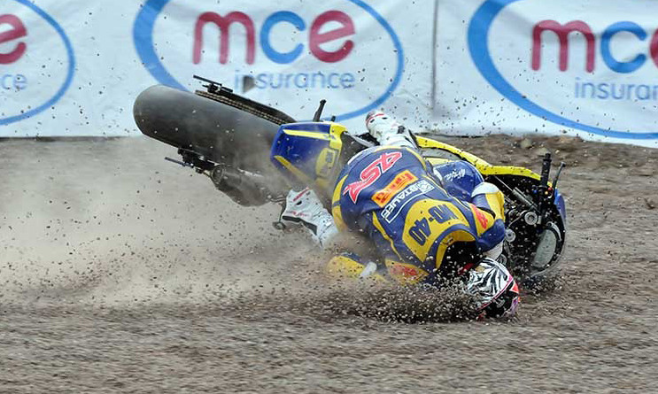 4SR Crash test - BSB Barry Burrell