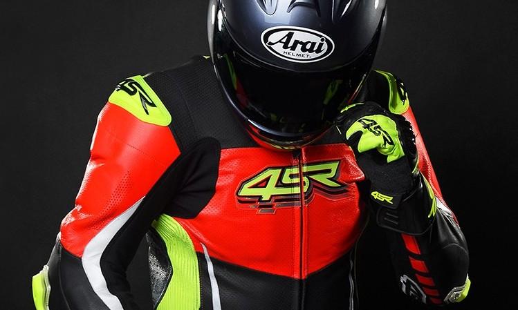 4SR - jednoczęściowy kombinezon motocyklowy Racing Neon AR - Airbag-Ready 04