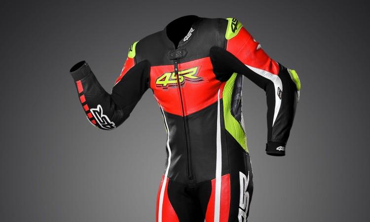4SR - jednoczęściowy kombinezon motocyklowy Racing Neon AR - Airbag-Ready 01